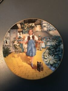 Knowles Wizard of OZ Scarecrow Collector Plate 1977 James Auckland MGM