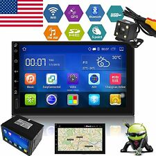 "Android 5.1 Double 2 Din 7"" Car Stereo GPS Radio MP5 Player Nav 3G Wifi +Camera"