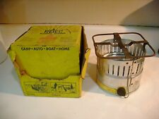 Vtg 1960's RETIC Alcohol Burner Camp Stove Camping Outdoor Portable