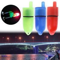 10Pcs/Lot Fishing LED Light Night Tip Clip On Fishing Rod Bite Alarm Alert Tool