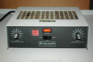 Fisher Scientific 3-Block Dry Dri Bath Cuvette Heater Incubator 11-718-4 -Tested