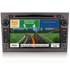 "7"" Car Bluetooth GPS SatNav Radio DVD Player USB Stereo For Vauxhall Astra H VXR"