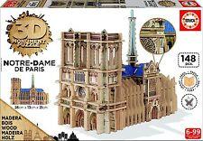 Educa Borrás - Notre Dame, puzzle 3D