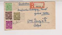 All.Bes./Gemeinsch.Ausg.Mi.929 u.a., Not-R-Arnstadt 3 - Burg, 22.8.47