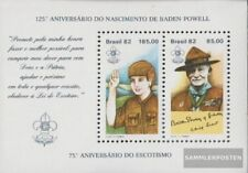 Brazil block51 (complete.issue.) unmounted mint / never hinged 1982 Scouts
