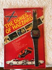 Dukes Of Hazzard Unisonic 1981 LCD Quartz Watch MIP