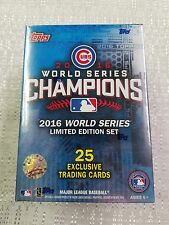 2016 Topps Chicago Cubs world series champions 25-card box set
