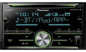 Pioneer FH-S701BS CD Stereo Radio Receiver Double DIN Bluetooth