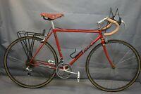 1989 Trek 400 Touring Road Bike Small 54cm Shimano Chromoly Steel USA Charity!!!