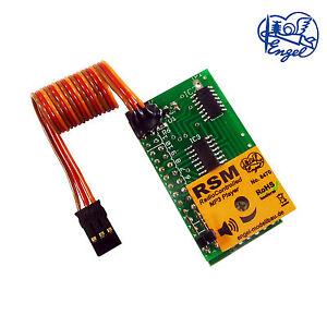 Soundmodul RSM mit MP3-Player • Geräuschmodul • RC-gesteuert