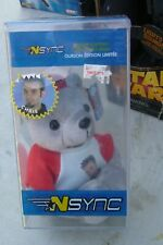 N Sync Limited Edition Collectible Bear Chris Kirkpatrick new