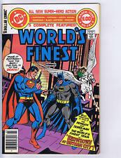 World's Finest #261 DC Pub 1980