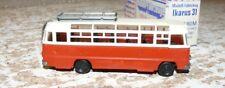 T6  Modell-Fahrzeug Ikarus 31 Omnibus rot DDR Produkt in OVP Spur HO