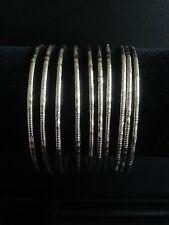 Bracelets Bangles Silver Set Ten Ethnic Bohemian Boho Gypsy Tribal Festival