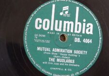 78rpm THE MUDLARKS mutual admiration society / a new love