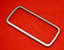 ORIGINALE Nokia 5230 FRAME CORNICE GUSCIO SUPERIORE COVER BOTTOM quadro FRONT SILVER