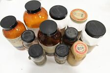 Set of (11) Baker's Analyzed Chemical Reagents Bottle