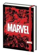 MARVEL-LOGO PREMIUM JOURNAL NOTEBOOK COMIC BOOK COMICON ANIMATION SUPERHERO USA