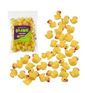 Maddie Rae's Slime Charms - Ducks - 25 pieces