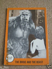 1961 Horror Monster Series II #107 The Bride and The Beast - Nu-Cards Inc.