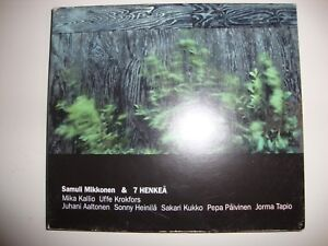 Rare SAMULI MIKKONEN & 7 HENKEA - Eponymous CD Album SCMCD-3 Finnish Jazz 2003