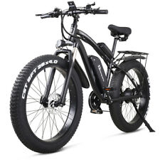 "Shengmilo Electric Mountain Bike 1000W 48V 17Ah 26"" Fat Tire 21 Speed For Adults"