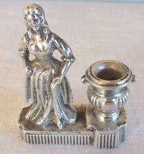 petit pyrogene ou encrier metal argenté pyrogenic inkwell