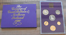 Proof Coin Set 1980 ROYAL MINT COINAGE OF GREAT BRITAIN & NORTHERN IRELAND