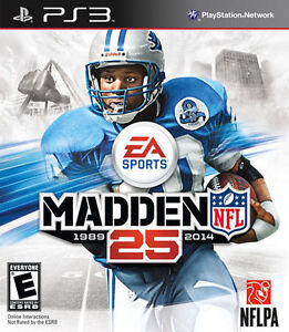 Madden NFL 25 Sony PlayStation 3 Game