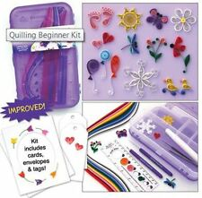 Quilled Creations BEGINNER QUILLING KIT In Double Sided Storage Box  ~400