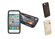 Hülle Silikon IPHONE 4 4G Und 4S Karte Kredit Master Karte Drei Farben