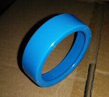 "(20 pc lot) Electrical Conduit EMT Pipe Bushing 2"" Blue Plastic Insulating"