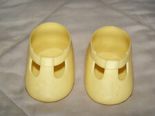 rare ORIGINAL MY CHILD MY LOVE Mattel doll yellow T-BAR T-STRAP MARYJANE SHOES