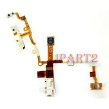 Headphone Earphone Jack Power Volume Switch Flex Cable for iPhone 3GS (White)