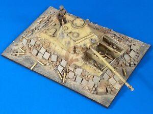 "Verlinden 1/35 ""Pantherturm"" Panther Dug-In Bunker Battle of Berlin Diorama 2767"
