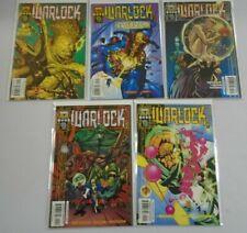 Warlock 2nd series run:#1-5 8.0 VF (1999)