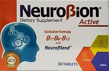 Nuerobion Dietary Supplement Exclusive Formula 30 Tablets