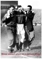 HEART OF MIDLOTHIAN FC HEARTS FC 1956 SCOTTISH CUP FINAL JOHN CUMMING A4 PRINT