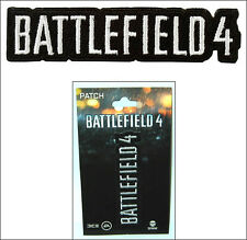 Battlefield 4 Game Logo Iron-On Patch Accessory Official Licensed Jinx EA DICE