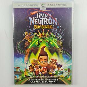 Jimmy Neutron: Boy Genius DVD - Region 4 PAL - FREE TRACKED POST