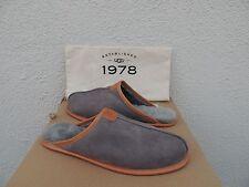 UGG THAYNE 1978 COLLECTION METAL SUEDE/ SHEEPSKIN SLIPPERS,  US 10/ EUR 43 ~NIB