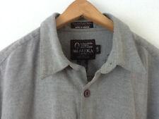 Muskoka Heavyweight Longsleeve Shirt, Grey, Large, Nice!