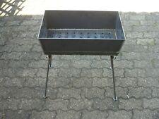 Mangal aus 3 mm 60x27 cm Stahl Grill Mangal Schaschlik  ohne Zubehör