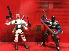 New listing 2001 Hasbro Gi Joe vs Cobra Snake Eyes vs Storm Shadow Loose Complete 🇺🇸