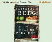 The Year of Pleasures by Elizabeth Berg (2005, CD, Unabridged)
