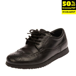 RRP €145 HOGAN Leather Lace Up Shoes Size 38.5 UK 5 US 6 Brogue Made in Italy