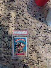 1985 GARBAGE PAIL KIDS EVIL EDDIE 1B GLOSSY PSA 8 beautiful card  only one star