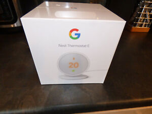 Google nest thermostat E brand new and sealed