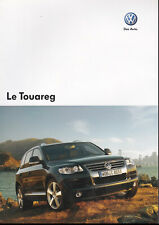 brochure 2007 VOLKSWAGEN TOUAREG !!!________________________en français______