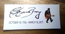 Chuck Berry Commemorative Guitar Waterslide decal